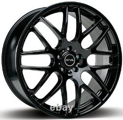 20 Black Dtm Alloy Wheels For Land Range Rover Sport Discovery 5x120