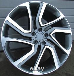 22 Inch Rims For Land Rover Discovery Range Rover Sport Et45 (4 Rims)