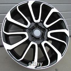 22 Inch Wheels For Land Rover Discovery Range Rover 9.5j (4 Wheels)