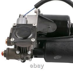 2x Front Tyre Suspension - Compressor Pump For Range Rover Sport