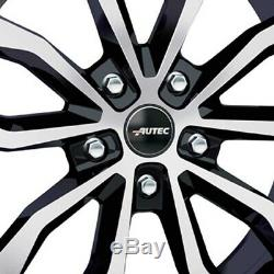 4 Rims Autec Uteca 7.5x17 5x108 Swp For Land Rover Discovery Freelander Sport