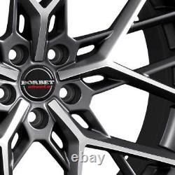 4 Rims Borbet By 11.0x23 Et32 5x120 Titapm For Land Rover Discovery Sport