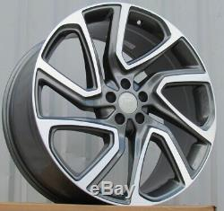4x 21 Inch Alloy Wheels Land Rover Discovery And Range Sport Wheels 45 G