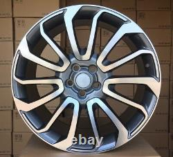4x 21 Inch Wheels For Land Rover Discovery Range Sport 21 In Et49 Alloy
