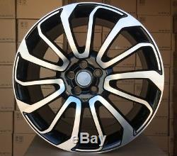4x 21 Inch Wheels For Land Rover Discovery Range Sport Et49 21 Alloy