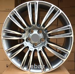 4x 21 Inch Wheels For Land Rover Discovery Range Sport With Et45 Alloy