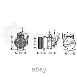 Air Land Rover Range Sport Taa Ls Air Compressor
