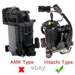 Air Suspension Compressor Pump Lr023964 For Range Rover Sport Hitachi Type New