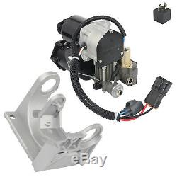 Air Suspension Compressor + Support For Land Rover Range Rover Sport