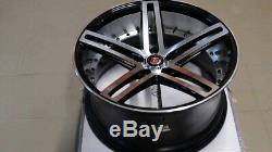 Alloy Wheels 19 Bpfs X4 Axis Ex20 For Land Rover Range Rover Sport Discovery Vw