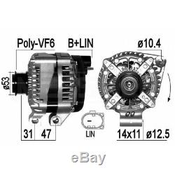 Alternator Land Rover Range Rover Sport (l494) 5.0 V8 4x4 375kw 510cv 04/2013