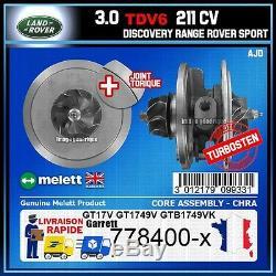 Chra Melett Range Rover Sport 3.0 Tdv6 Discovery 245 211 778 400 Turbo