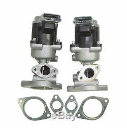 For Range Rover Discovery 2.7 Td 04 Mk3-on Left & Right Egr Valves