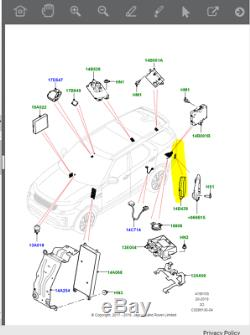 Lr113194 Discovery 5 Range Rover Sport + Store Spot Module 9g768 14f152