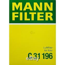 Mann-filter Set III Land Rover Discovery 2.7 Td Taa Range Sport Ls 4x4 Tdvm
