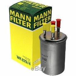 Mann-filter Set Range Rover Sport Ls 4x4 Discovery III 2.7 Tdvm Taa