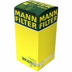 Mann-filter Set Range Rover Sport Ls 4x4 Discovery III 2.7 Tdvm Taa Td
