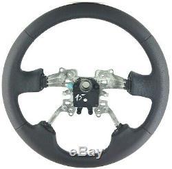 Original Land Rover Discovery 3 Range Sport Nappa Leather Steering Wheel 15b