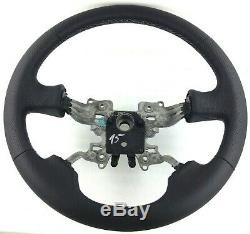 Original Land Rover Discovery 3 Range Sport Nappa Leather Steering Wheel 15b