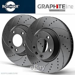 Rotinger Graphite Brake Discs Sport Front Axle Land Rover Discovery III