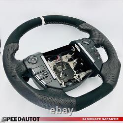 Tuning Alcantara Steering Multif. Dsg Range Rover Discovery IV White Ring