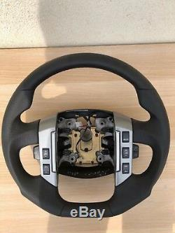 Tuning Exchange Flattened Steering Wheel Multifunction Leather Land Rover Range Rover Sport
