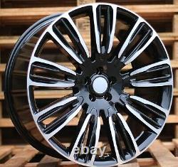 21 Pouces Jantes pour Land Rover Discovery Range Rover Sport 9.5J 4 Jantes ET49