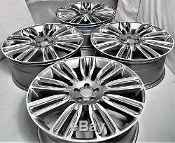 22 Pouces Jantes pour Land Rover Discovery Range Rover Sport 9.5J (4 Jantes) Gri