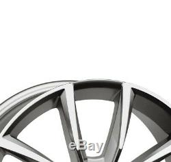 4 Jantes Autec ASTANA 8.0x18 5x108 TP pour Land Rover Discovery Sport Evoque Vel
