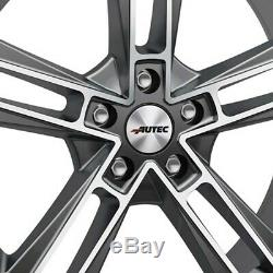 4 Jantes Autec RIAS 8.5x20 5x108 TM pour Land Rover Discovery Sport Freelander E