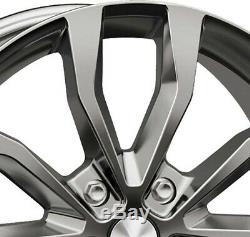 4 Jantes Autec UTECA 8.5x19 5x108 SIL pour Land Rover Discovery Sport Freelander