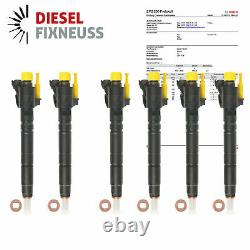 6x Injecteur 0445116013 Land Rover Discovery 4 Gamme Range Rover Sport Piézo
