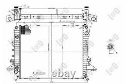 ABAKUS Radiateur refroidissement du moteur pour LAND ROVER RANGE ROVER SPORT LS