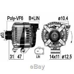 ALTERNATEUR LAND ROVER RANGE ROVER SPORT (L494) 5.0 V8 4x4 375KW 510CV 04/2013