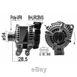 Alternateur Land Rover Range Rover Sport (l320) 4.4 220kw 299cv 02/200503/13 Eb