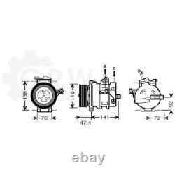 Compresseur Climatisation Compresseur D'Air Land Rover Range Sport Ls Taa