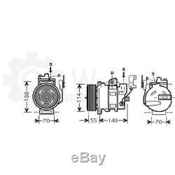 Compresseur Climatisation Compresseur D'Air Land Rover Range Sport Taa Ls