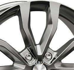 Jantes Autec UTECA 8.0x18 ET45 5x108 SIL pour Land Rover Discovery Sport Freelan
