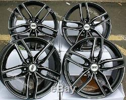 Jantes en Alliage X4 17 Noir Drs pour 5X108 Land Rover Discovery Sport