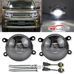 LED Brouillard Feux pour Land Rover Range Sport Mk3 Freelander 2 Lf Discovery Mk