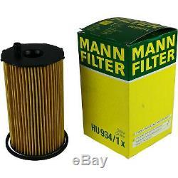 Mann-filter Set Land Rover Discovery III Taa 2.7 Td Gamme Sport Ls Tdvm 4x4