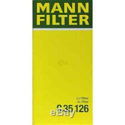 Mann-filter Set Land Rover Discovery IV la 3.0 4x4 5.0 V8 Gamme Sport Ls
