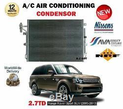 Pour Range Rover Sport Ls 2.7 Td 2005-2013 Neuf AC Air Conditionné Condenseur