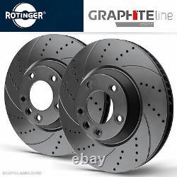 Rotinger Graphite Ligne Disques de Frein Sport Arrière Land Rover Range II