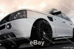 Roues Alliage 22 Altus Pour Land Range Rover Sport Discovery VW T5 T6 Noir