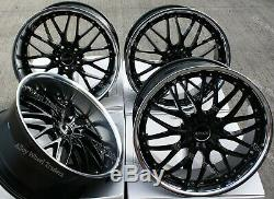 Roues Alliage X 4 20 Noir P 190 Wr pour Land Range Rover Discovery Sport BMW